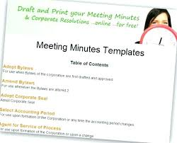 How To Write Meeting Minutes Expert Tips Templates And Sample