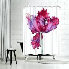 parrot tulip shower curtain hooks east urban home