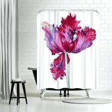 parrot tulip shower curtain hooks east urban home