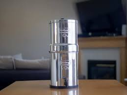 berkey water filter. Standing Up - Big Berkey Water Filter Full View Berkey Water Filter