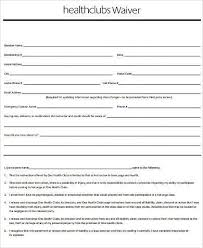 Sample Health Waiver Forms - 7+ Free Documents In Word, Pdf