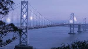 Bay Bridge Lights Project Art Project To Illuminate Bay Bridge The San Francisco