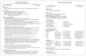 Theatre Internship Cover Letter Examples Resume Examples Career Internship Services Umn Duluth
