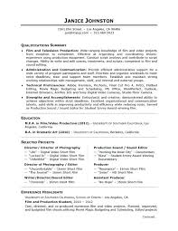 Film Producer Sample Resume Mesmerizing Pharma Production Resume Pdf Sample For Manager Coordinator Food