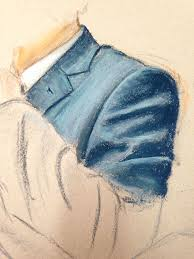learn to paint a shirt jacket in pastel as part of cath ingles portraits course coming soon to arttutor