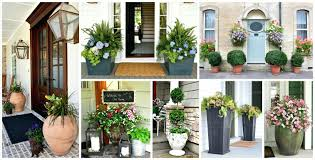 Articles with spring front door urns tag terrific front door urn front door  planters for summer