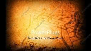 Music Powerpoint Template Powerpoint Template Music Grunge Background With Different