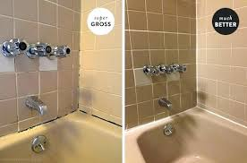 best caulk for shower dealing with nasty grout caulk in the apartment bathroom door intended for