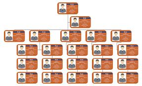 Employee Organizational Chart Free Employee Details Photo Org Chart Template