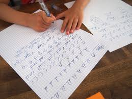 Tips On Teaching Your Children Cursive Writing New Seyes Ruled