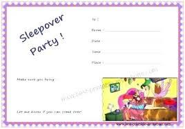 free sleepover invitation templates free pajama party invitation templates birthday invitations slumber