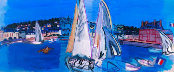 raoul dufy deauville drying the sails 1933