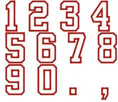 Number Stencil Font 92 Best Stencils Numbers Images Stencil Number Stencils Numbers