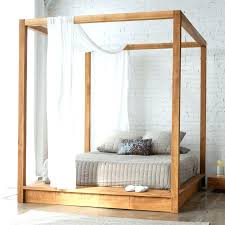 Bed Frame With Curtains Cheap Canopy Beds S Canopy Beds King Size ...