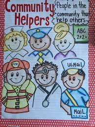 Our Community Helpers Chart My Community Helpers Anchor Chart Community Helpers