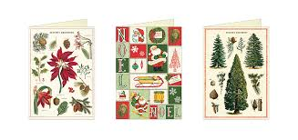 Christmas Notecard Cavallini Co Christmas Collection Notecards