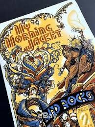my morning jacket red rocks 2019 poster