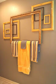 Towel Rack Placement In Bathroom Margos Junkin Journal Towel Bar From Frames How To