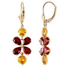 image is loading 5 32 carat 14k solid gold chandelier earrings