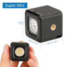 Light And Portable Us 19 4 26 Off Ulanzi Mini Portable Camera Video Led Light Waterproof Light Led Photo Lighting With Hot Shoe Light For Dslr Cameras Sony Canon In