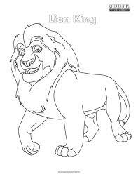 Here's a link to the png and psd files: Lion King Coloring Page Super Fun Coloring