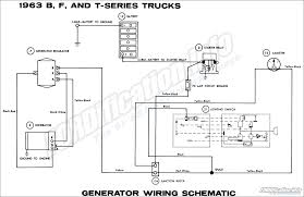 1963 ford truck wiring diagrams fordification info the '61 '66 1963 Ford Wiring Diagram 1963 b, f, and t series trucks generator wiring schematic 1953 ford wiring diagram