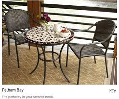 Patio furniture for small spaces Bar Pelham Bay Fits Perfectly In Your Favorite Nook Lowes Outdoor Furniture Collections For Small Spaceslowes