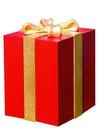 Gift box with bow Round 32 Commercial Christmas Supply 32