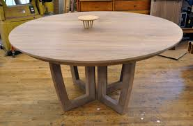 simple with round custom dining table on wood with leaf i