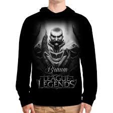 """Толстовка с полной запечаткой """"<b>League of Legends</b>. Браум ..."""