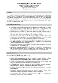 Example One Page Resume Example Of A Good One Page Resume Krida 16