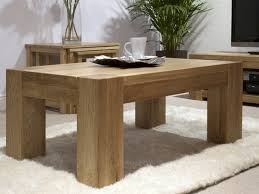 oak end tables. Trend Solid Chunky Oak Coffee Table End Tables
