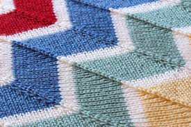 Chevron Knitting Pattern Stunning Rainbow Chevron Baby Blanket Wolves In London