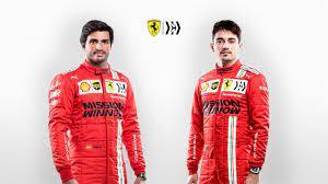 Ferrari Officially Introduced Carlos Sainz For 2021 Football24 News English