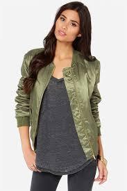 glamorous diddly olive green er jacket