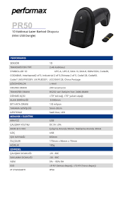 PERFORMAX PR50 PR50 1D,Kablosuz+Batarya+Mini Usb Barkod Okuyucu : nettenal  • Güvenli Internet Alışverişi