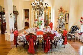 this is the related images of Decorating Dining Room Table For Christmas