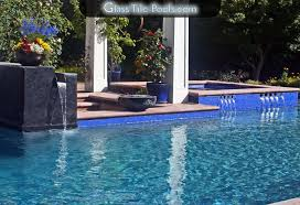 glass tile pools custom swimming pool by international pool designer