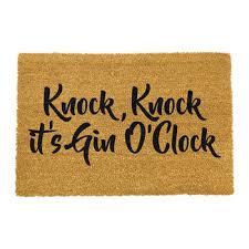 gin o clock door mat volume 2