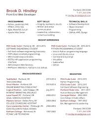 ... Front End Developer Resume Examples Front End Web Developer Resume  Template Best Front End Web Developer ...