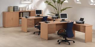 color office chairs. Beech-color-office-furniture-tables-and-chairs Color Office Chairs