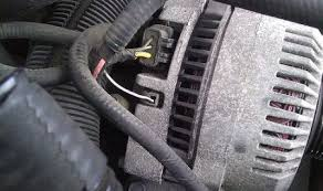 ford ranger alternator not charging electrical problem  ok i disconnected positive wire from the battery there are 3 wires on the voltage regulator yellow red white black and green