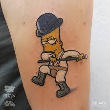 Bart Simpson Tel 3334137419 Mrjack Mr Jack Tattoo Artist