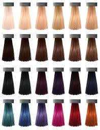 Purple Pack Hair Color Chart New Hair Colors Heartless