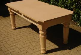 image of pine outdoor pool table legs frame and mdf bed