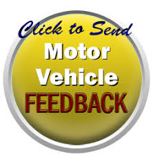 motor vehicle department feedback
