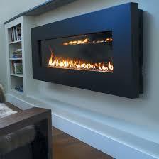 slim wall mount gas fireplace