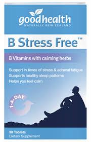 B Stress Free Good Health