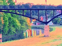 The Bridge Digital Art by Jim OKeefe
