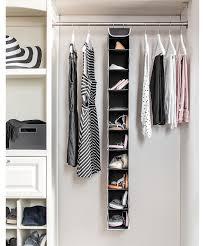 black black white seven piece dorm room closet organization set alternate image